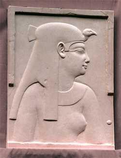 R157 Profilo di busto egiziano