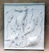 R263     Cavallucci marini con conchiglia