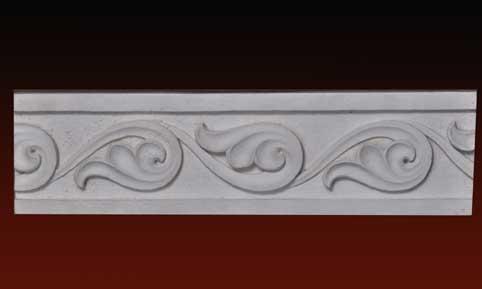 R283 Fregio ornamentale mandorla