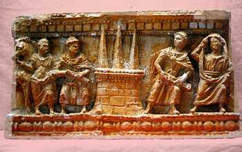 R326 Sarcofago romanico