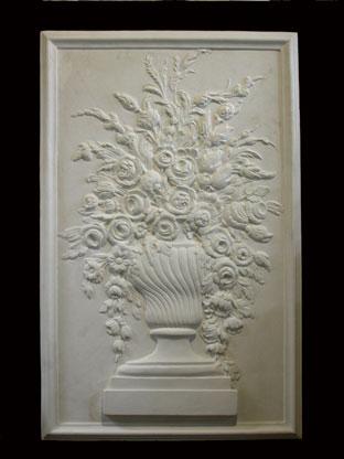 R353      Vaso con fiori