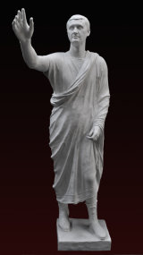 S062   Arringatore Etrusco Aulo Metello