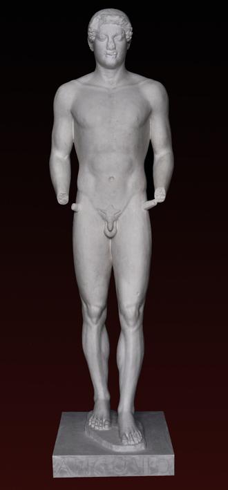S128 Aristodikos Kouros