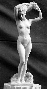 S131 Nudo femminile - bozzetto