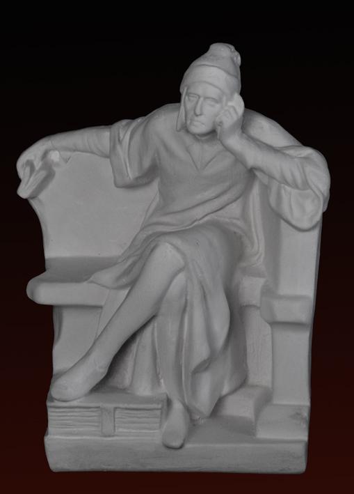 S163 Dante seduto
