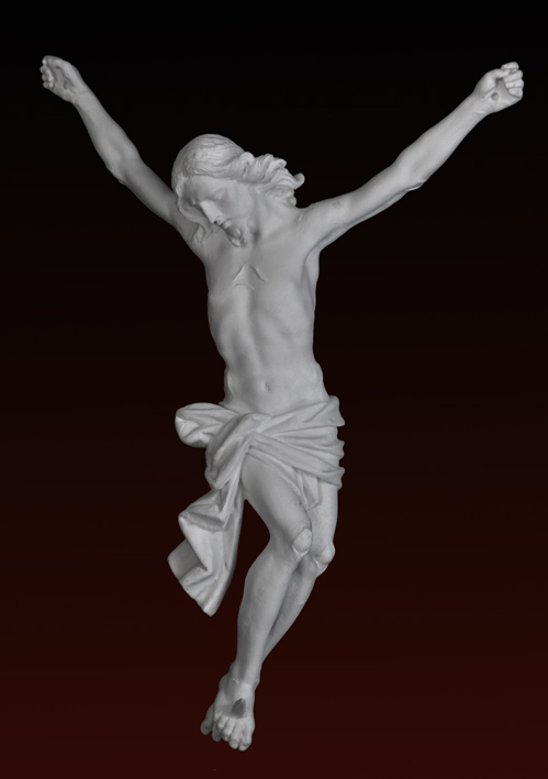 S201 Cristo 1700 napoletano-senza crocifisso