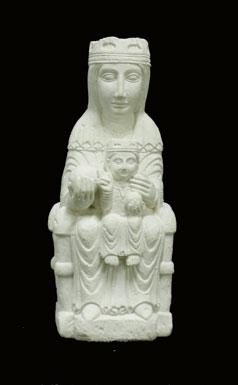 S204 Madonna con bambino di Montserrat monastero di Montserrat