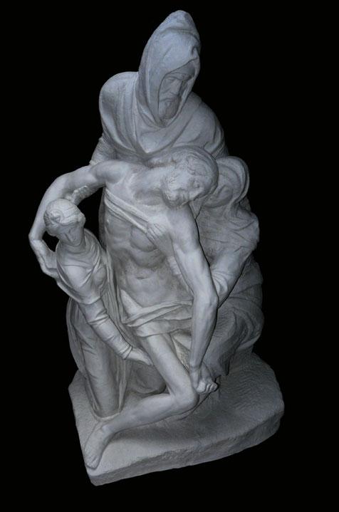 S206 Pietà di Michelangelo del Duomo di Firenze