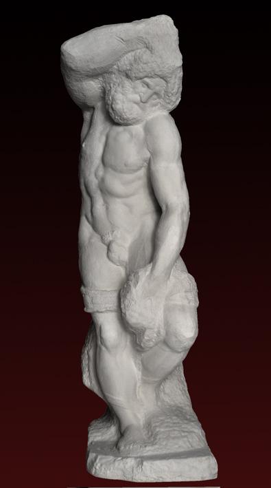 S246 Prigione Barbuto - Michelangelo Buonarroti