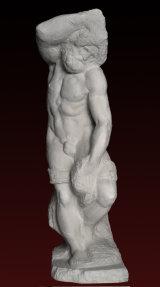 S246 Prigione barbuto- Michelangelo