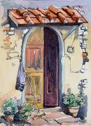 Tuscan Doorway