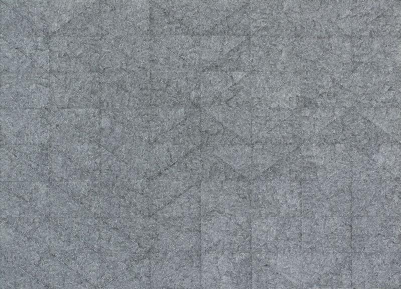 Parallel/Bendno.51,2017,hand-madedrawing,Indianinklightfastpenonpaper,50x70cm