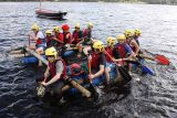 Outward Bound Raft Building Exercise