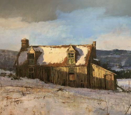 Old Cottage near Rothiemurchus, HIghlands