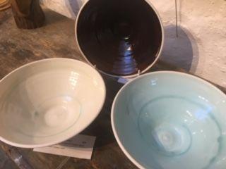 Glazed Porcelain Bowls