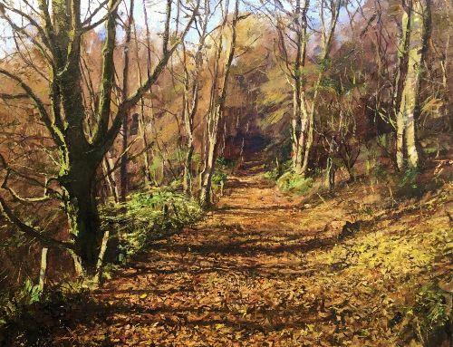 Autumn Stroll, Alyth Den