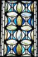 St.Peter's Fish Stained Glass Window, Uddingston, Glasgow