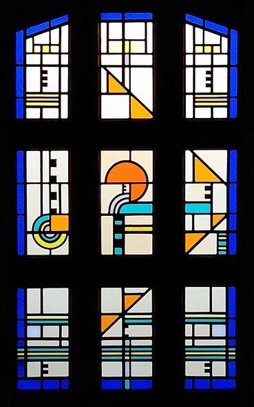 Art Deco-Style Door Panels