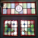 Traditional Stained Glass Door Panels, Calne