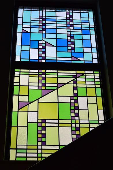 Art Deco-Style window