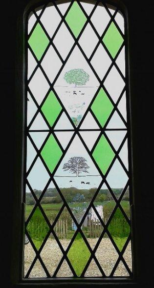 Country Scenes Window, Hilmarton