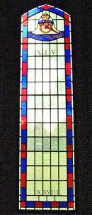 Royal Artillery Regimental Stained Glass Window