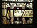Restored Victorian Stained Glass Panel