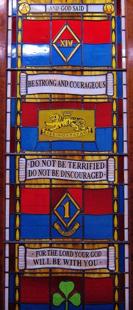 Royal Artillery Stained Glass, Larkhill