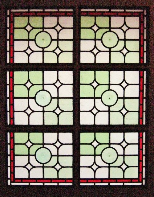 Traditional Stained Glass Door Panels, Urchfont