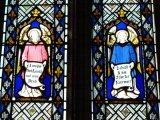 Restored Stained Glass, St.George's Preshute, Marlborough
