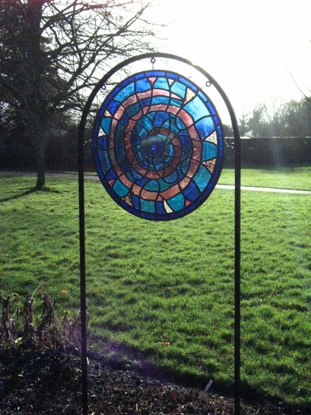 """Spring"" Stained Glass at Laycock Abbey"