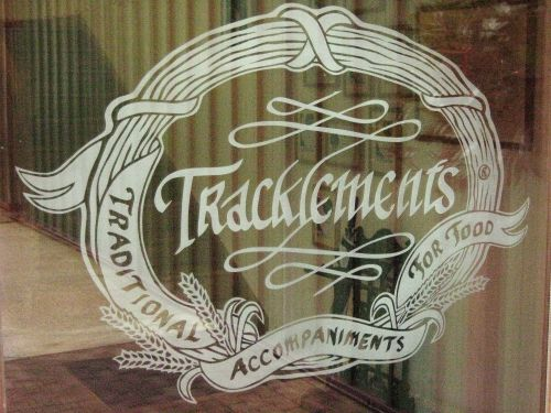 Tracklements Company Logo, Easton Grey, Malmesbury