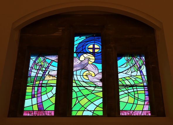 Kingham Hill School Hall Windows