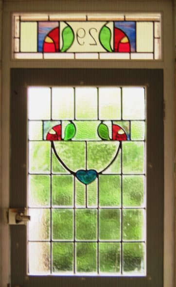 Westbury Stained Glass Front Door Panels