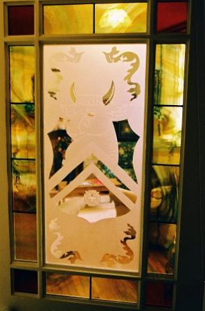 Heraldic Door Panel