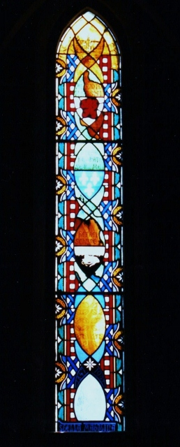John Wycliffe Stained Glass Window