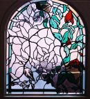 Flower Stained Glass Window
