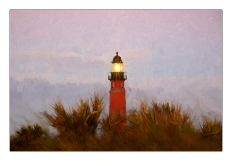 Ponce Inlet Lighthouse Painting