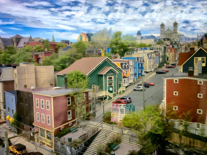 Downtown St John's