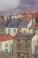 Staithes Over the Rooftops