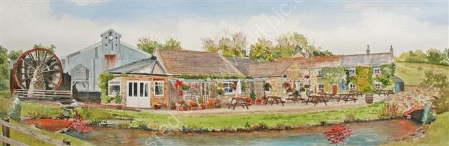 The Old Mill Knitsley Co Durham ORIGINAL SOLD