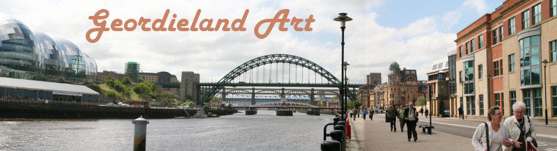 Geordieland art