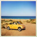 On the Beach, Fiat 500