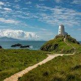 lighthouse, llanddwyn island, anglesey