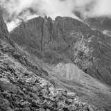 scafell crag from hollow stones