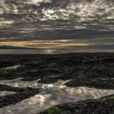 the dee estuary from hilbre