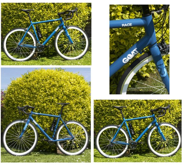 GOAT Road 'Race' - Azure Blue Frame