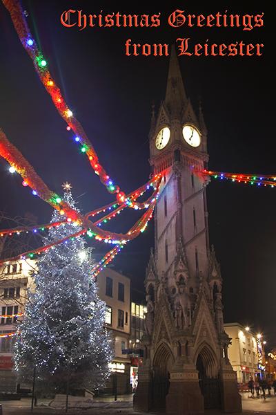 Richard Cox Professional Photography: Christmas Tree & Clock Tower