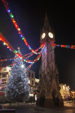 Leicester's Clock Tower & Christmas Tree