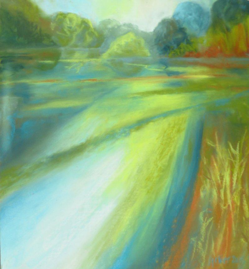 Chalke Stream Reflections